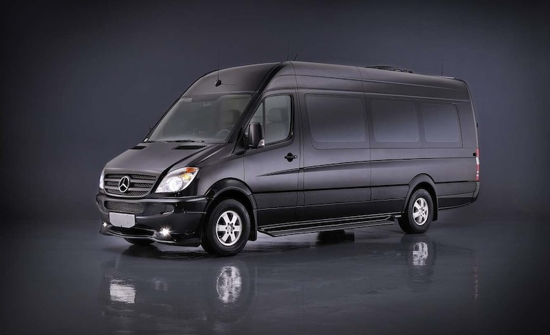First Mercedes Van